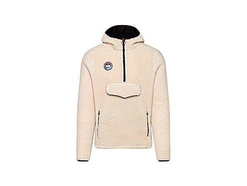 Mikina s kapucí klokanka ONDINE - krémovámen cycling jersey ondine beige 1[1]
