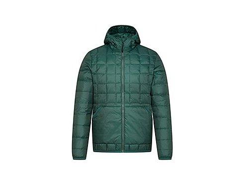 Zimní péřová bunda AMÉLIE - smaragdově zelená