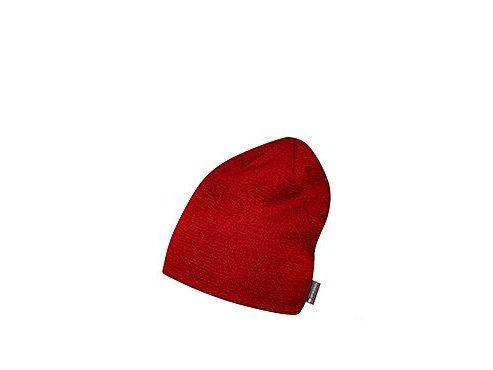 Zimní čepice - Merino DIANE - červenámen women cycling beanie diane red[1]