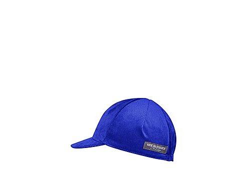 Cyklistická čepice - serie manšestrový design - sametově modrámen women cycling cap velvet blue 1[1]