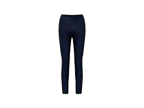 Dámské cyklistické kalhoty zimní bez laclu - THERESA - námořní modráwomen cycling bibshort theresa navy[1]