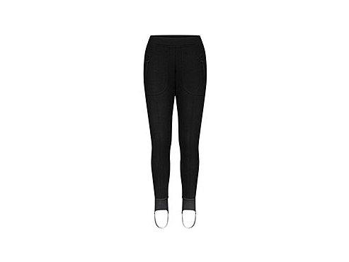 Dámské cyklistické a volnočasové - strečové kalhoty JULIETTE - černáwomen cycling trouser juliette black 1[1]