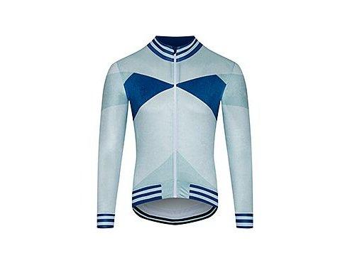 Cyklodres s dlouhým rukávem ATELIER VIVANE - ledová modřmen cycling atelier viviane ice blue 20102020[1]