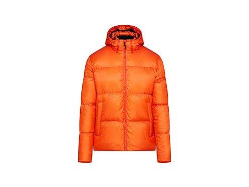 Zimní péřová bunda ANAIS - oranžováunisex cycling jacket anais orange[1]