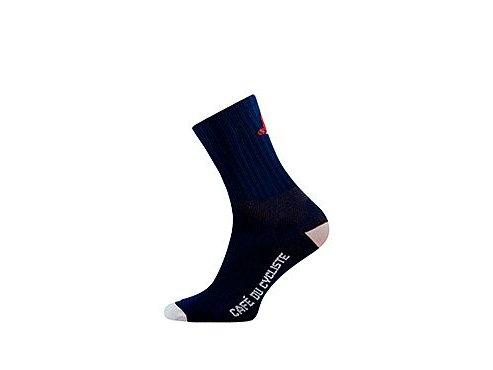 Cyklistické ponožky - GRAVEL létající ryba - námořní modrámen cycling socks flying fish navy[1]