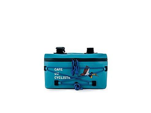 Cyklistická voděodolná brašna na řidítka - světle modráaccessories cycling handlebar bag blue 27112020[1]