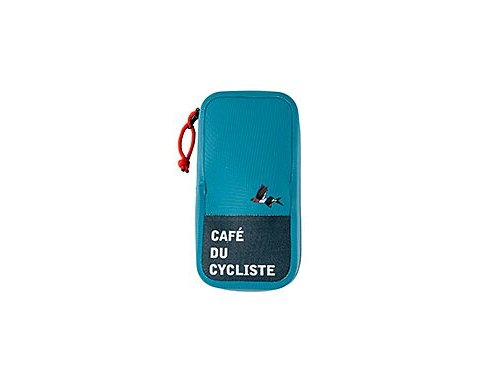 Cyklistická voděodolná pěněženka střední - světle modrámen cycling accessories pouch blue[1]