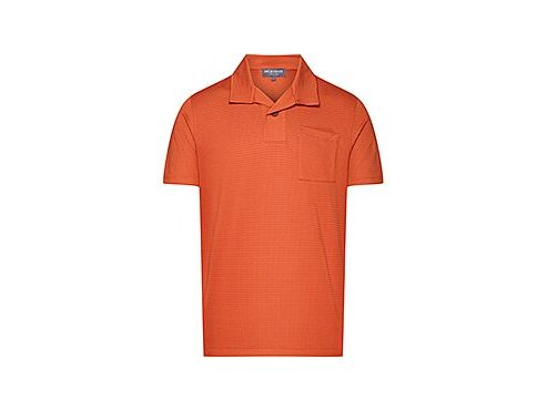 Tričko s límečkem - polokošile ROMIE - merunkově oranžovámen cycling romie apricot[1]