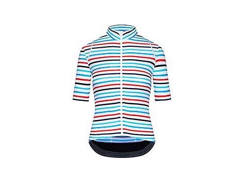 Dámský cyklo dres AUDAX MONA - modro červenýwomen cycling mona mesh parasol red 6[1]