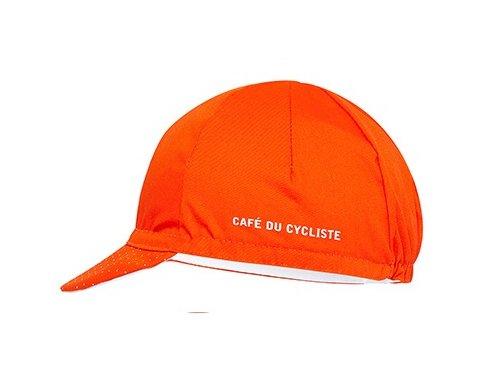 Cyklistická čepice - série CLASSIC - oranžová