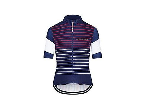 Dámský cyklo dres ATELIER MÉLINA - modro bílá červená