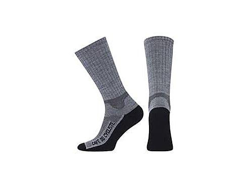 Zimní ponožky na kolo Merino PRIMALOFT - šedá