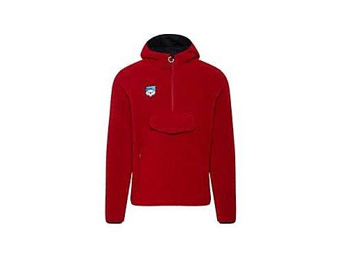 Mikina s kapucí klokanka ONDINE - červená