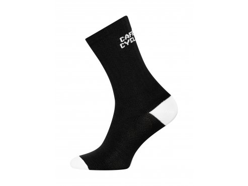 Café du Cycliste SS19 accessoires Socks Block Colour Black Packshot side