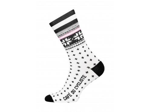 CAFÉ DU CYCLISTE - cyklistické ponožky - Merino NORDIC černá