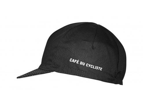 CAFÉ DU CYCLISTE - cyklistické čepice - kšiltovka na kolo CYCLING CAP CLASSIC černá