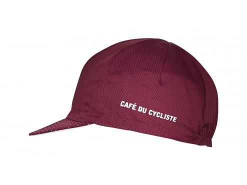 CAFÉ DU CYCLISTE - Cyklistická čepice na kolo - CYCLING CAP CLASSIC červená