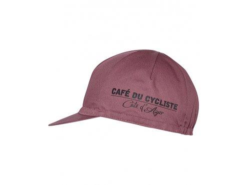 CAFÉ DU CYCLISTE Čepice CYCLING CAP ANIMAL SERIES WOLF vínová