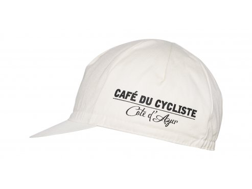 Café du Cycliste SS19 Accessoires Cap Octopus Animal Series Cream Packshot Side