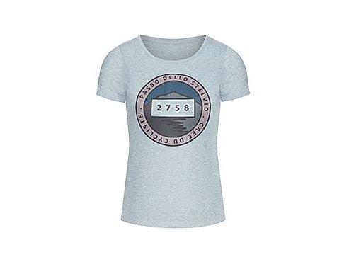 Dámské bavlněné tričko s obrázkem Passo dello Stelvio