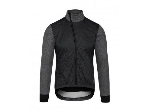 CAFÉ DU CYCLISTE - dámské cyklistické bundy - podzimní / zimní cyklobunda WOMEN'S HEIDI černá