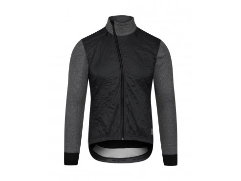 Café du Cycliste SS19 Men Jacket Heidi Black Packshot Front (1)