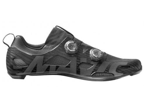 19 MAVIC silniční cyklistické tretry černá - boty na kolo COMETE ULTIMATE BLACK/BLACK 400282