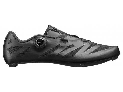 19 MAVIC cyklistické tretry černá - boty na kolo COSMIC SL ULTIMATE BLACK/BLACK/BLACK 406099