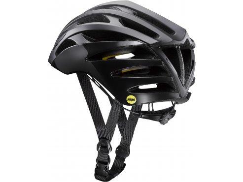 19 MAVIC cyklistická helma na kolo černá KSYRIUM PRO MIPS BLACK/YELLOW MAVIC 404108