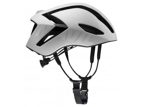 19 MAVIC cyklistická helma na kolo bílá COMETE ULTIMATE WHITE/BLACK 406933