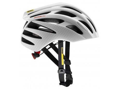 19 MAVIC cyklistická helma na kolo bílá KSYRIUM PRO MIPS WHITE/BLACK 407822