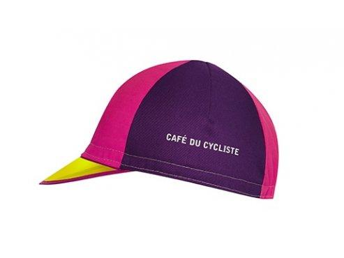Cyklistická čepice - série POKER - fialová a růžová
