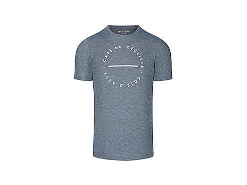 CAFÉ DU CYCLISTE - volnočasová trika - cyklo tričko T-SHIRT CLASSIC NEW námořní modrá