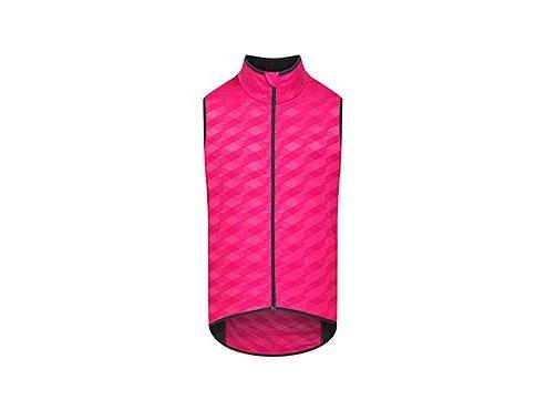 CAFÉ DU CYCLISTE - cyklistická vesta - cyklovesta JACQUELINE AUDAX růžová