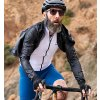 CAFÉ DU CYCLISTE - pánské cyklistické dresy - cyklodres FLEURETTE bílá