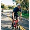 CAFÉ DU CYCLISTE - pánské cyklistické dresy - cyklodres FLEURETTE námořní modrá