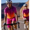 CAFÉ DU CYCLISTE - pánské cyklistické kalhoty - cyklo kraťasy MARINETTE malina