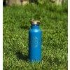 Elegantni nerezová cyklo termolahev na vodu 0,5l modrá