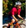 CAFÉ DU CYCLISTE - pánské cyklistické dresy - cyklodres Merino MARINA vínová