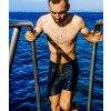 CAFÉ DU CYCLISTE - pánské plavky - plavky AMANDINE námořní modrá