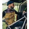 CAFÉ DU CYCLISTE - pánské cyklistické vesty - volnočasová vesta LISETTE zlatě hnědá