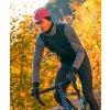 CAFÉ DU CYCLISTE - pánské cyklistické bundy - podzimní / zimní cyklobunda HEIDI černá
