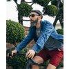 CAFÉ DU CYCLISTE - volnočasová trika - cyklo tričko T-SHIRT CLASSIC námořní modrá