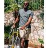Cyklistické kalhoty volné NOEMIE - béžovámen shorts noemie beige 4[1]