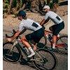 CAFÉ DU CYCLISTE - cyklistické ponožky - COLOUR bílá