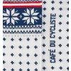 CAFÉ DU CYCLISTE - cyklistické ponožky - Merino NORDIC námořní modrá