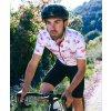CAFÉ DU CYCLISTE - pánské cyklistické dresy - cyklodres VALENTINE GRAVURE vínová