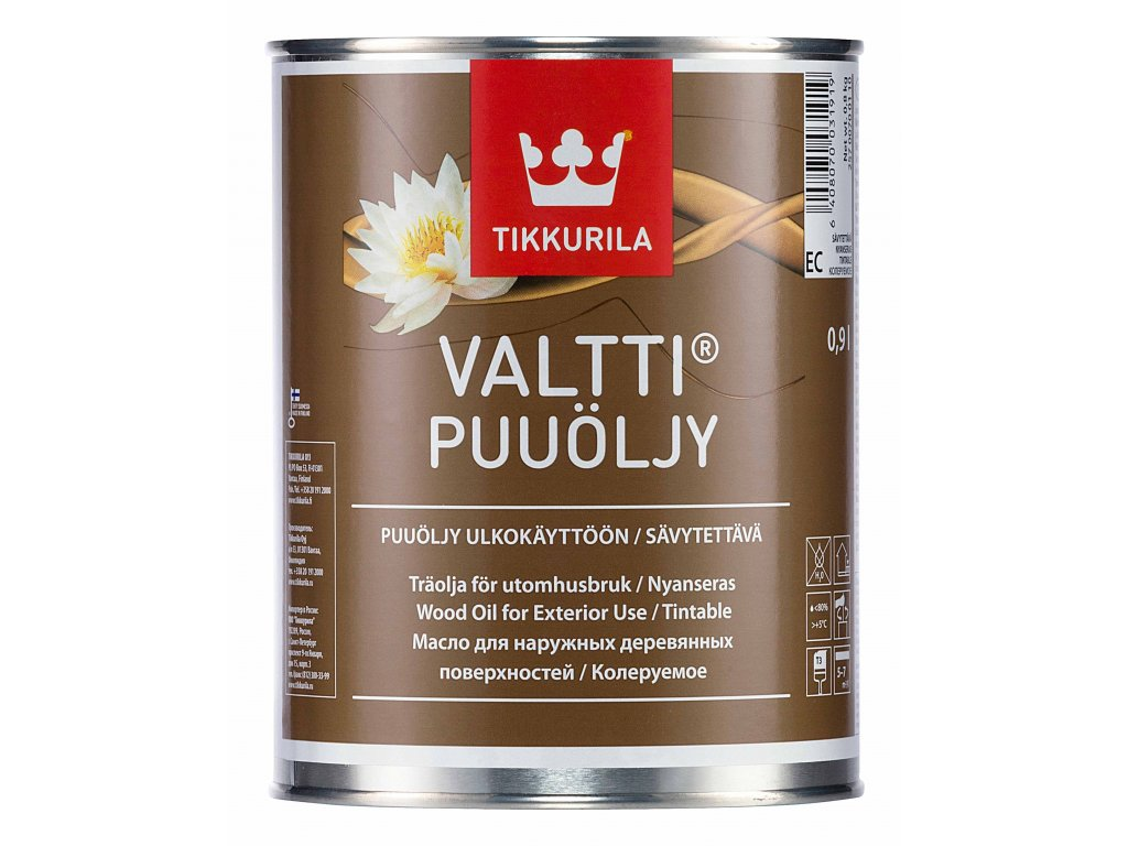 Valtti Wood Oil 0,9l