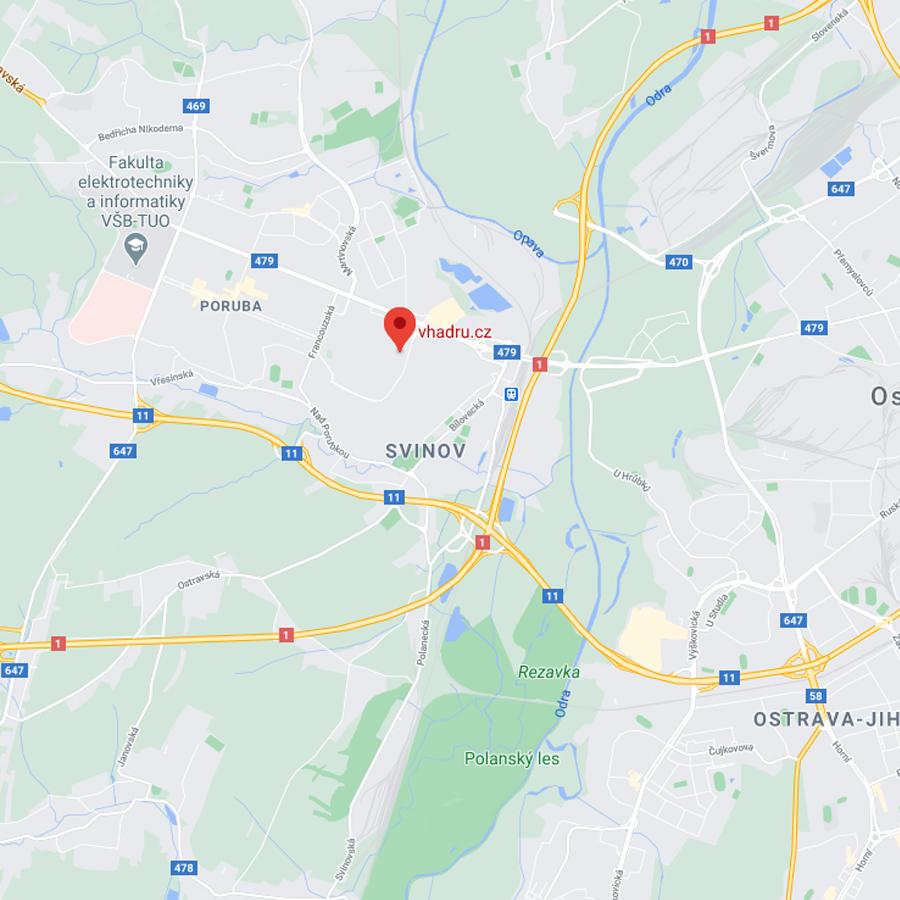 Google mapy lokace