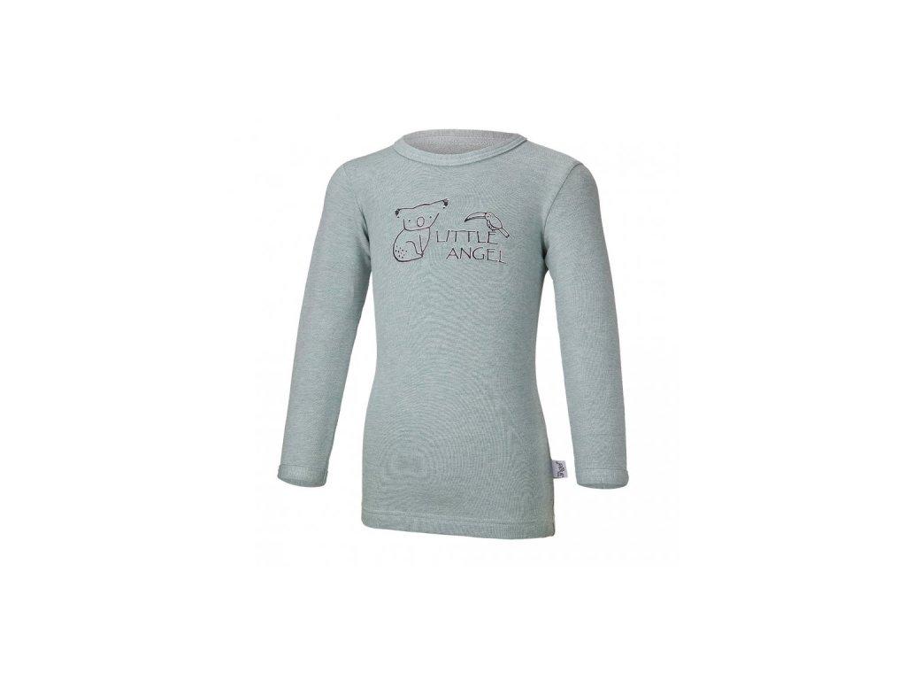 Tričko smyk KOALA Outlast® - lišejník melír
